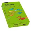 Papier xero kolorowy PAPYRUS A4 Rainbow ciemno zielony 78 80g