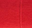 Krepina marszczona 180g 50x250cm 580 jasnoczerwony