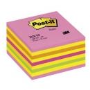 Kostka samoprzylepna Post-it cukierkowa różowa 2028-NP, 76x76 mm 450 kartek