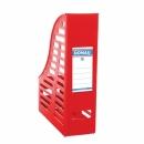Pojemnik na dokumenty DONAU składany A4 ażurowy czerwony 7464001PL-04