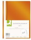 Skoroszyt PP Q-CONNECT A4 pomarańczowy 10szt.