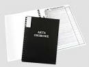 Teczka WARTA do akt osobowych binda zewnętrzna 339-026 czarna