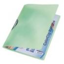 Skoroszyt LEITZ RAINBOW A4 ColorClip 41760055 zielony