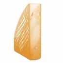 Pojemnik na dokumenty DONAU PS A4 ażurowy transparentny pomarańczowy 7462188PL-12