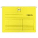 Teczka zawieszana DONAU A4 z wąsem żółta 7430001PL-11