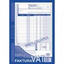 Faktura VAT MICHALCZYK I PROKOP A4 netto 100-1 wielokopia pełna 80K