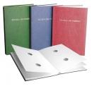Książka do podpisu DELFIN zielona 15 kart