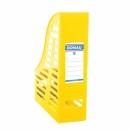 Pojemnik na dokumenty DONAU składany A4 ażurowy żółty 7464001PL-11