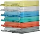 Półka na dokumenty BANTEX A4  zielona 100553684