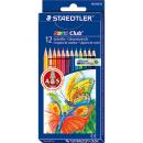 Kredki ołówkowe STAEDLER 12 kolorów opakowanie kartonowe