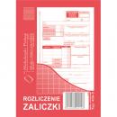 Rozliczenie zaliczki MICHALCZYK I PROKOP A6 409-5 offset 40 kartek