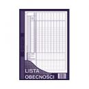 Lista obecności MICHALCZYK I PROKOP A4 506-1 offset 40 kartek
