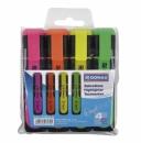 Zakreślacz DONAU D-TEXT komplet 4 kolorów 7358904PL-99