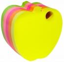 Bloczek samoprzylepny DONAU 7563001PL-99 jabłko mix 5 kolorów