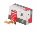 Pinezki DOX złote 100szt. 7767100-35