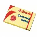 Bloczek samoprzylepny ESSELTE CONTACTA 83005 75x50 mm