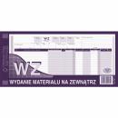 WZ wydanie materiału na zewnątrz MICHALCZYK I PROKOP 1/3A3 361-2 wielokopia 80 kartek