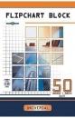 Blok do flipchartu INTERDRUK 50 kartek gładki 100x64cm