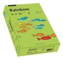 Papier xero kolorowy PAPYRUS A4 Rainbow zielony 76 80g
