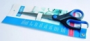 Nożyczki biurowe BANTEX z gumowym uchwytem 15 cm.